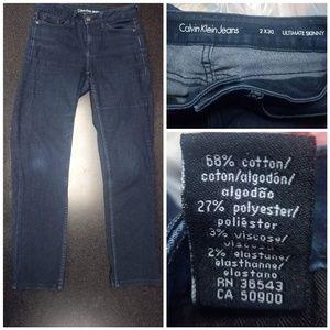Calvin Klein Dark Blue Denim Jeans
